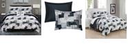 Chic Home Utopia 8 Piece Queen Bed In a Bag Duvet Set
