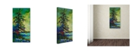"Trademark Global Marion Rose 'West Coast Sentinel' Canvas Art - 47"" x 24"" x 2"""