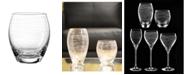 Qualia Glass Graffiti Double Old Fashioned Glasses, Set Of 4