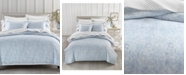 Charter Club Sleep Luxe Damask Printed Cotton 800 Thread Count 2 Pc. Comforter Set, Twin, Created for Macy's
