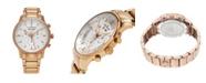 Stuhrling Alexander Watch A101B-04, Stainless Steel Rose Gold Tone Case on Stainless Steel Rose Gold Tone Bracelet