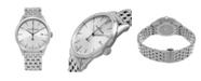 Stuhrling Alexander Watch A911B-04, Stainless Steel Case on Stainless Steel Bracelet