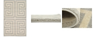 "Bridgeport Home Anzu Anz1 Gray 3' 3"" x 5' 3"" Area Rug"