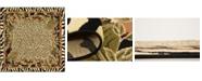 Bridgeport Home Maasai Mss1 Ivory 6' x 6' Square Area Rug