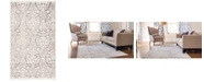 "Bridgeport Home Norston Nor5 Gray 3' 3"" x 5' 3"" Area Rug"