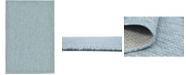 Bridgeport Home Pashio Pas6 Aquamarine 6' x 9' Area Rug