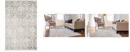 Bridgeport Home Norston Nor5 Gray 4' x 6' Area Rug