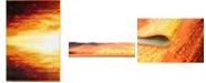 Bridgeport Home Politan Pol1 Orange 4' x 6' Area Rug