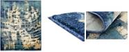 Bridgeport Home Marblesea Mrb5 Navy Blue 8' x 10' Area Rug