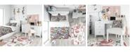 Design Art Designart 'Graffiti Texture' Modern Teen Duvet Cover Set - Twin