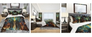 Design Art Designart 'Never Endingabstract' Modern and Contemporary Duvet Cover Set - King