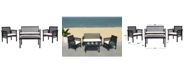 Safavieh Carson 4Pc Outdoor Seating Set