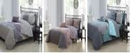 Avondale Manor Amber 7-Pc. Reversible Twin Quilt Set