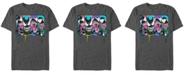 Marvel Men's Comic Collection Venom Neon Dripping Panels Short Sleeve T-Shirt