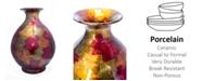 "Heather Ann Creations Rachel Collection 19"" Table Vase"