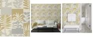 "Advantage 20.5"" x 369"" Hammons Block Botanical Wallpaper"