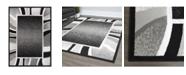 """Global Rug Designs Global Rug Design Loma LOM03 Black 5'2"""" x 7'4"""" Area Rug"""