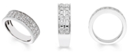 Macy's Certified Diamond (1 ct. t.w.) Band in 14K White Gold