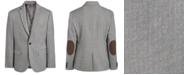 Lauren Ralph Lauren Big Boys Classic-Fit Stretch Black/White Herringbone Sport Coat