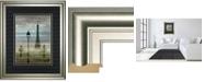 """Classy Art Paris 1 by Allen Lanbert Framed Print Wall Art, 34"""" x 40"""""""