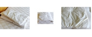 Holy Lamb Organics Natural Crib Quilted Wool Mattress Topper Encased in Organic Cotton Sateen