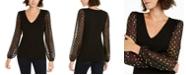 INC International Concepts INC Rainbow Clip-Dot Sweater, Created for Macy's