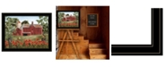 """Trendy Decor 4U Summer Days by Billy Jacobs, Ready to hang Framed Print, Black Frame, 27"""" x 21"""""""