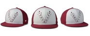 Authentic NHL Headwear Vancouver Millionaires Tri-Color Throwback Snapback Cap