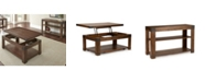 Furniture Albion Cocktail & Sofa Table Set Collection