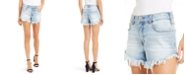 INC International Concepts INC Frayed-Hem Denim Shorts, Created for Macy's