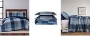 Truly Soft Trey Plaid Twin XL Duvet Set