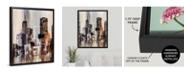 "GreatBigCanvas 'Coastal City I' Framed Canvas Wall Art, 24"" x 30"""