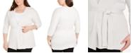 Eileen Fisher Plus Size Organic Cardigan