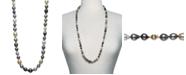 "Belle de Mer Multicolor Cultured Pearl 34"" Strand Necklace"