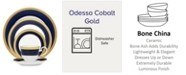 Noritake Odessa Cobalt Gold 5 Pc Place Setting