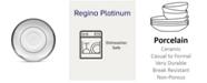 Noritake Regina Platinum After Dinner Saucer