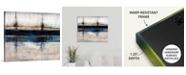 """GreatBigCanvas 'City Blue' Canvas Wall Art, 24"""" x 20"""""""