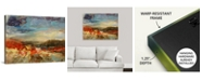 "GreatBigCanvas 40 in. x 30 in. ""Landscape Study"" by  Jodi Maas Canvas Wall Art"