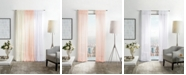 "Martha Stewart Collection Martha Stewart Glacier 50"" x 84"" Sheer Curtain Set"