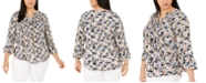 Charter Club Plus Size Pintuck Top