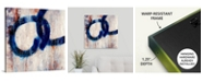"GreatBigCanvas 'Lapis Rings I' Canvas Wall Art, 24"" x 24"""