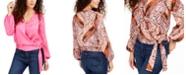 Thalia Sodi Wrap Top, Created for Macy's