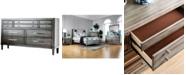 Furniture of America Lassen Solid Wood Dresser