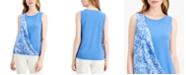 Alfani Print Sash Top, Created for Macy's
