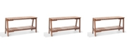 Alaterre Furniture Otero Eucalyptus Wood Outdoor Buffet