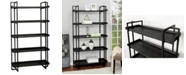 Furniture of America Keno 5-Tier Ladder Shelf