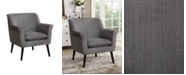 Furniture of America Wegner Flared Arms Accent Chair