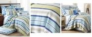 Levtex Bayport Stripe Reversible Full/Queen Quilt Set