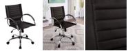 Furniture of America Savin Swivel Base Office Chair