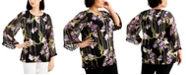 JM Collection Plus Size Tassel-Trim Tunic, Created for Macy's